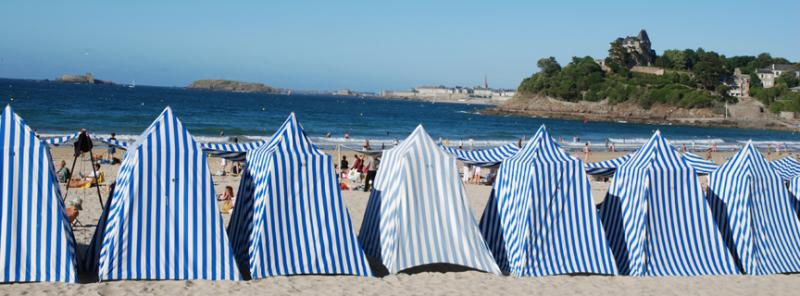 City of Dinard close to Saint-Malo